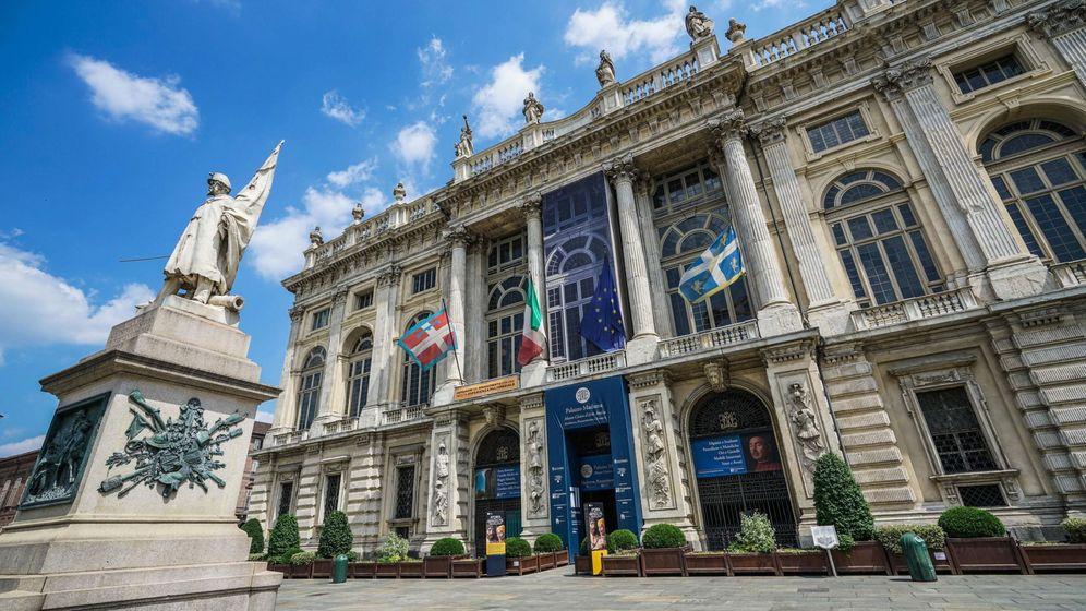 Foto: El museo del Palazzo Madama en Turín. (EFE)