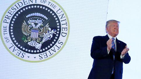 El 45 es un títere: el escudo anti-Trump que se coló en su discurso