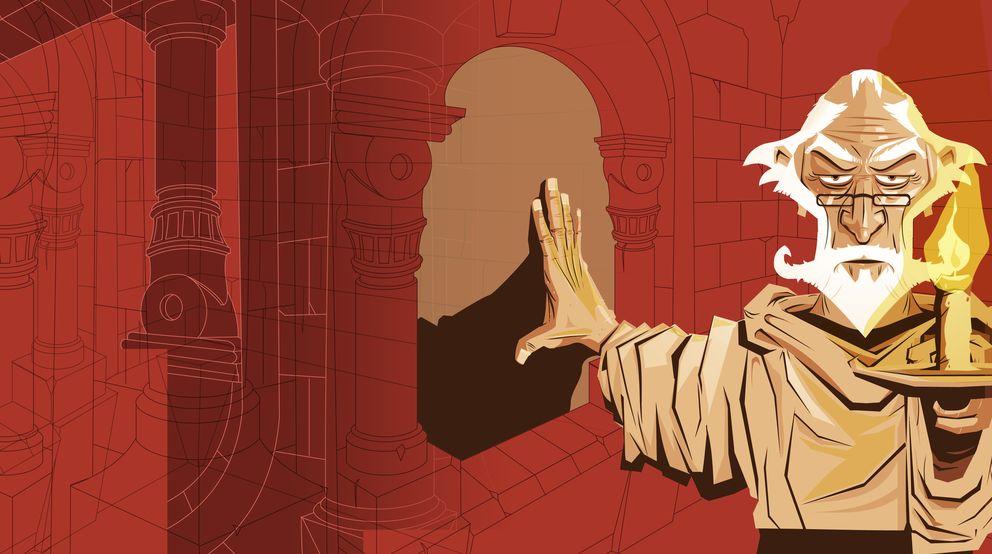 Foto: Ilustración de 'Obsequium', de Jaume Esteve (@Roswell_AKB)