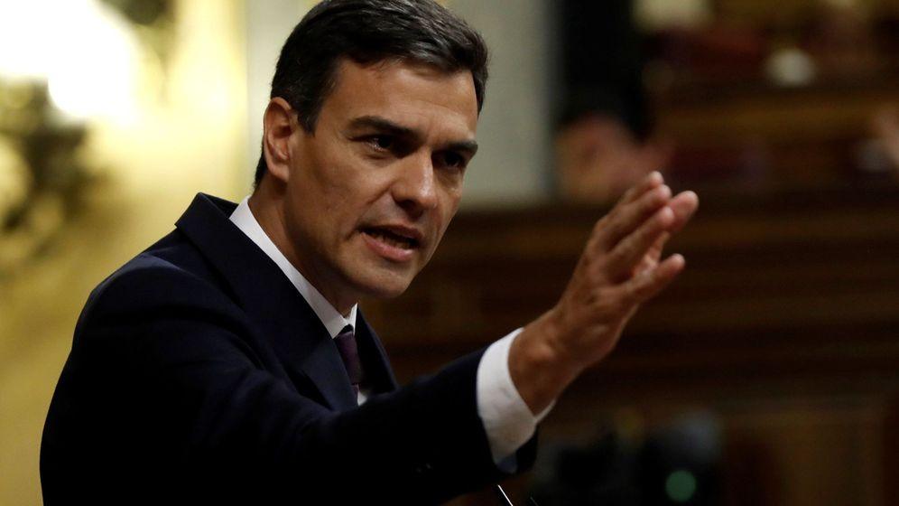 Foto: El jefe del Ejecutivo, Pedro Sánchez. (EFE)