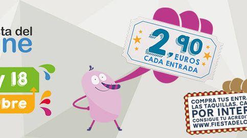 ¡Vuelve el cine a 2,90 euros! Consulta las salas de la Fiesta del Cine