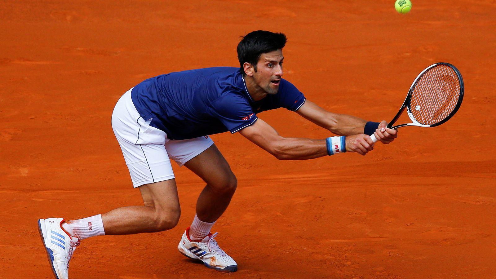 Foto: Sufrió, pero ganó: Djokovic ya está en la tercera ronda de Madrid. (Reuters)