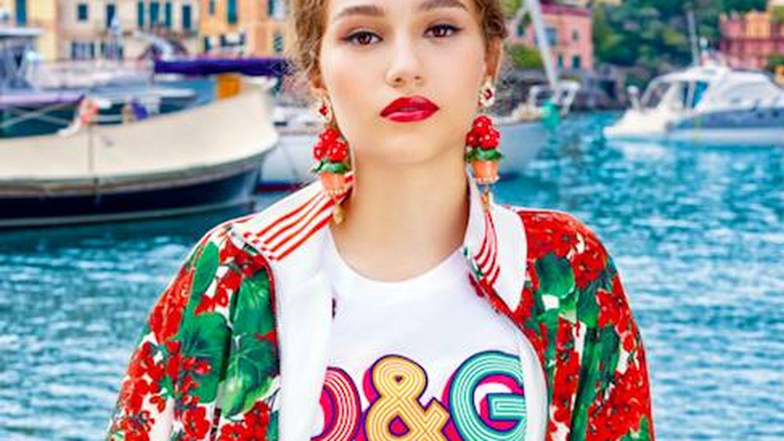 Foto: Dolce & Gabbana, siempre noticia. (Cortesía)