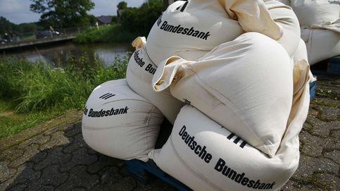 La búsqueda de refugio lleva el Bund alemán a negativo por primera vez en su historia