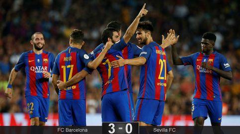 Luis Enrique, los que quieren jugar te saludan y dan la Supercopa al Barça