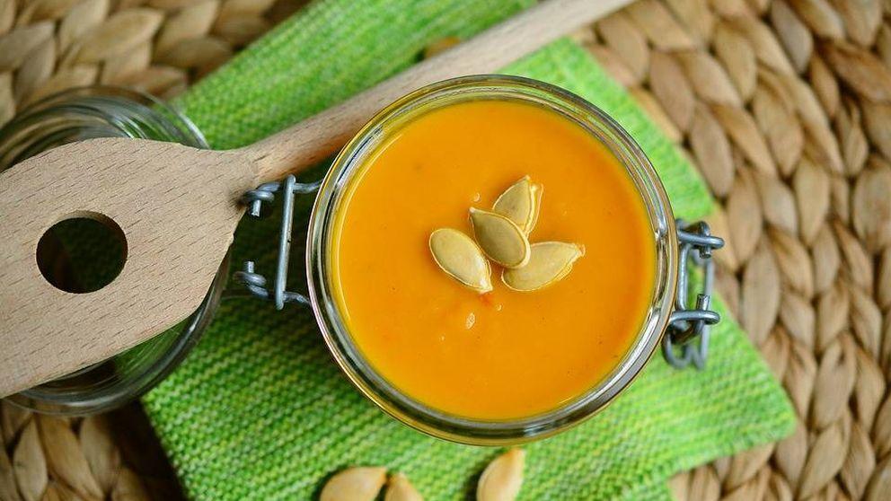 Crema de calabaza al curry sin grasa