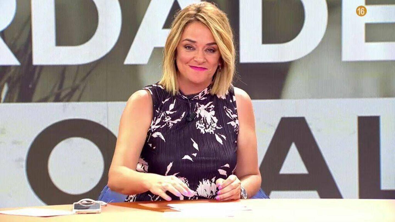 Toñi Moreno, presentadora de 'Viva el verano'. (Mediaset)