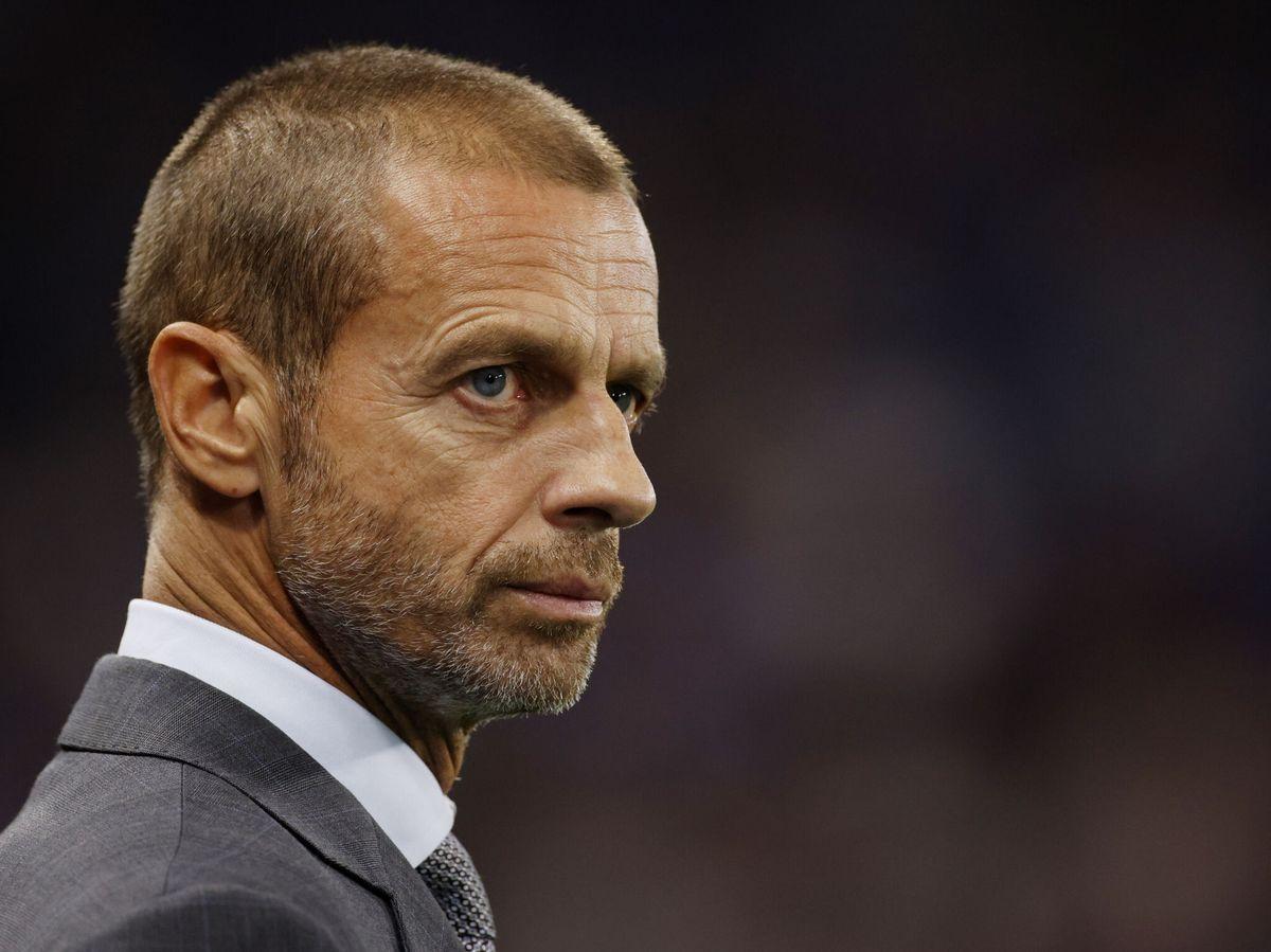 Foto: El presidente de la UEFA, Aleksander Čeferin. (Reuters)