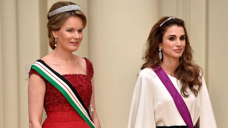 Foto: Abdalá y Rania de Jordania realizan una visita de Estado a Bélgica