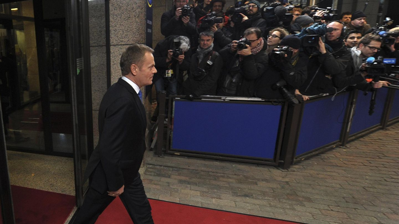 Tusk, objetivo de todas las miradas (Reuters).