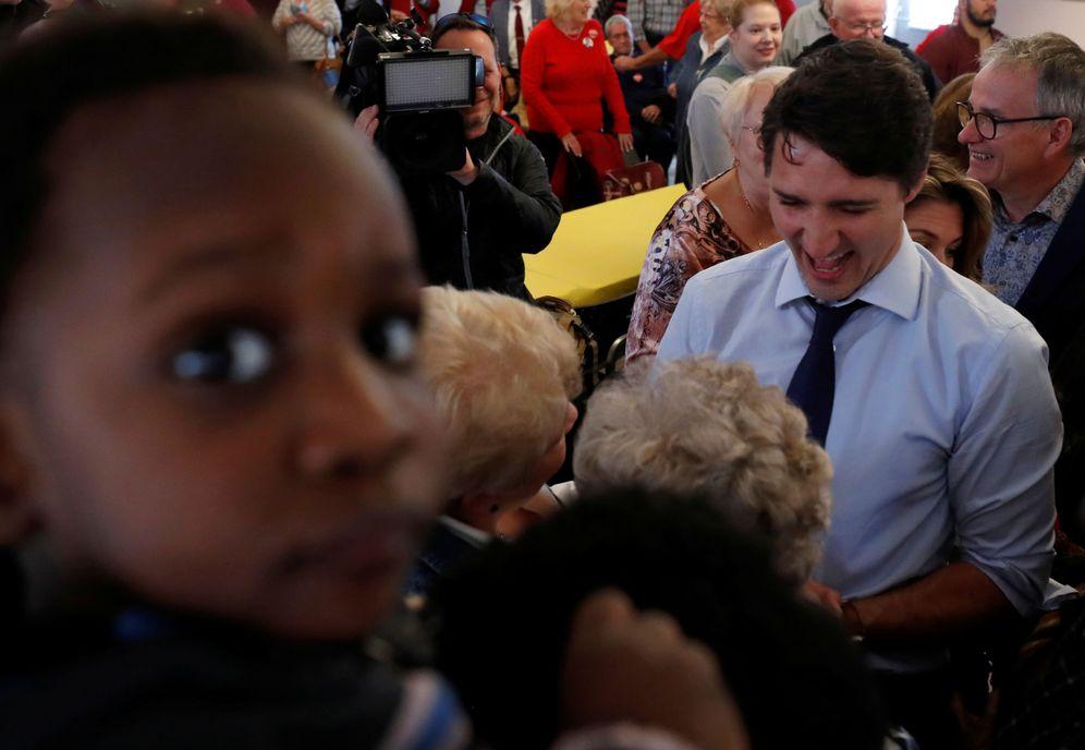 Foto: Justin Trudeau, en una visita a la Royal Canadian Legion. (Reuters)