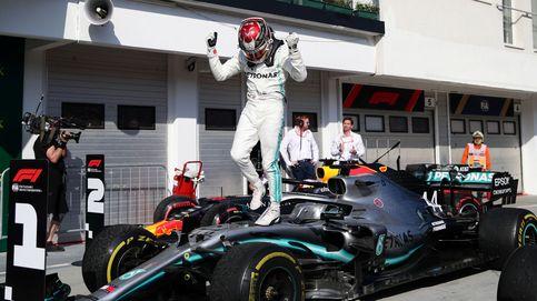 El golpe de Hamilton a Verstappen y cómo Carlos Sainz (5º) sacó lo máximo