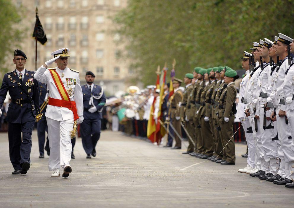 Foto: Imagen de archivo de una jura de bandera en Valladolid (Efe)