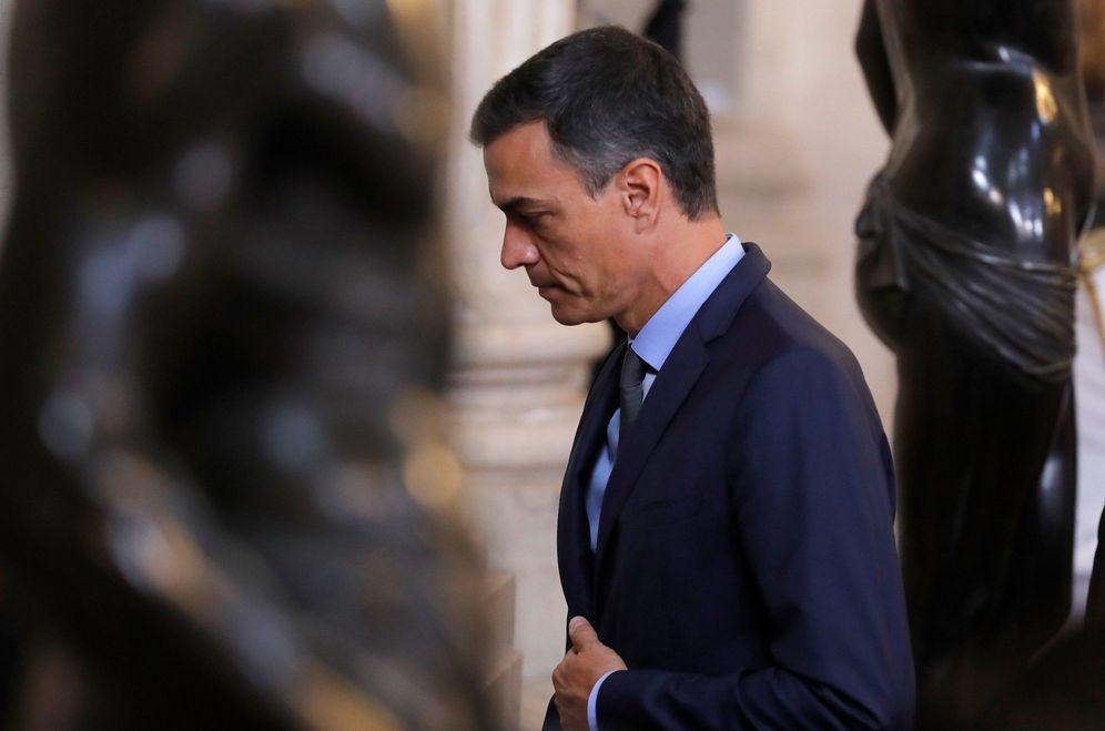 Foto: Pedro Sánchez, el pasado 19 de junio, durante el acto presidido por el Rey por el quinto aniversario de su proclamación. (EFE)