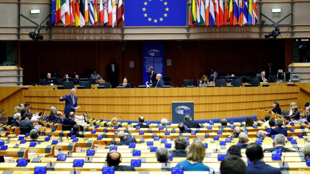 Foto: Sesión del Parlamento Europeo en Bruselas, el 30 de junio de 2019. (Reuters)