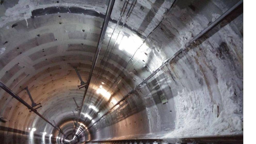 Otra vez la L7 de Metro: la salmuera ha empezado a invadir 454 metros de túnel
