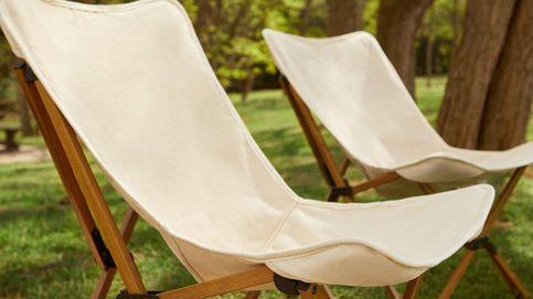 La silla plegable de Zara Home ideal en jardines y terrazas pequeños
