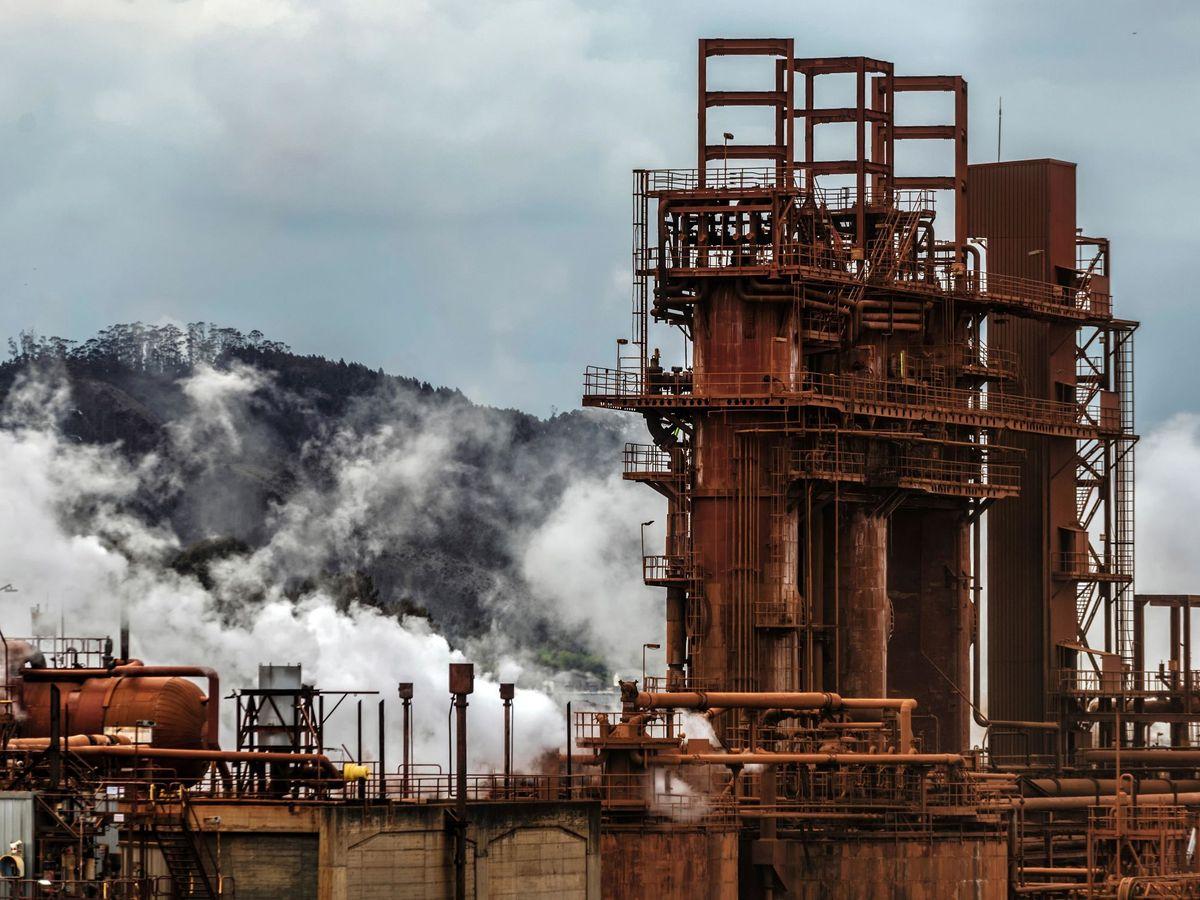 Foto: Fábrica de aluminio en Lugo (EFE)