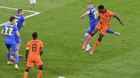 Países Bajos se desata en ataque ante Ucrania y firma el mejor partido de la Eurocopa (3-2)