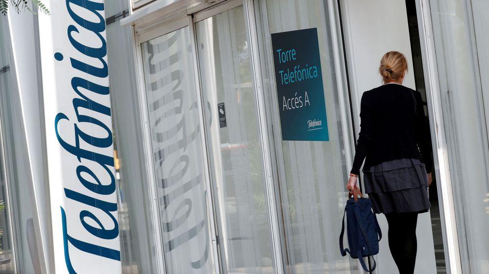 Foto: Edificio de Telefónica (Reuters)
