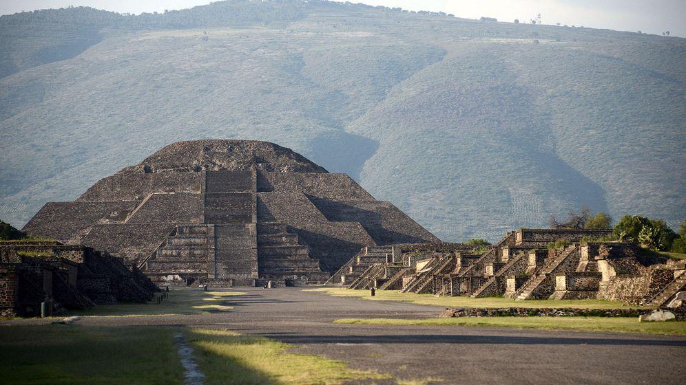 Foto: La Pirámide de la Luna, en Teotihuacán. (EFE/ Mauricio Marat)