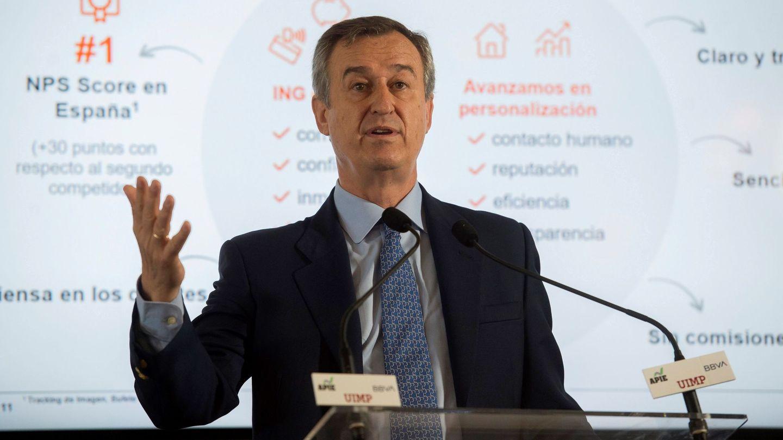 El expresidente de ING España, César González Bueno.