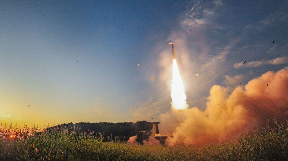 Foto: Corea del Sur disparó este domingo un misil balístico en respuesta al ensayo nuclear de Corea del Norte. (EFE)
