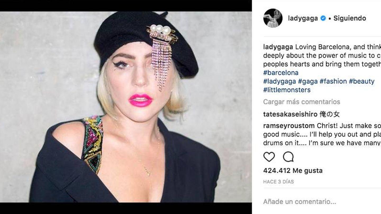 Lady Gaga. (Instagram)