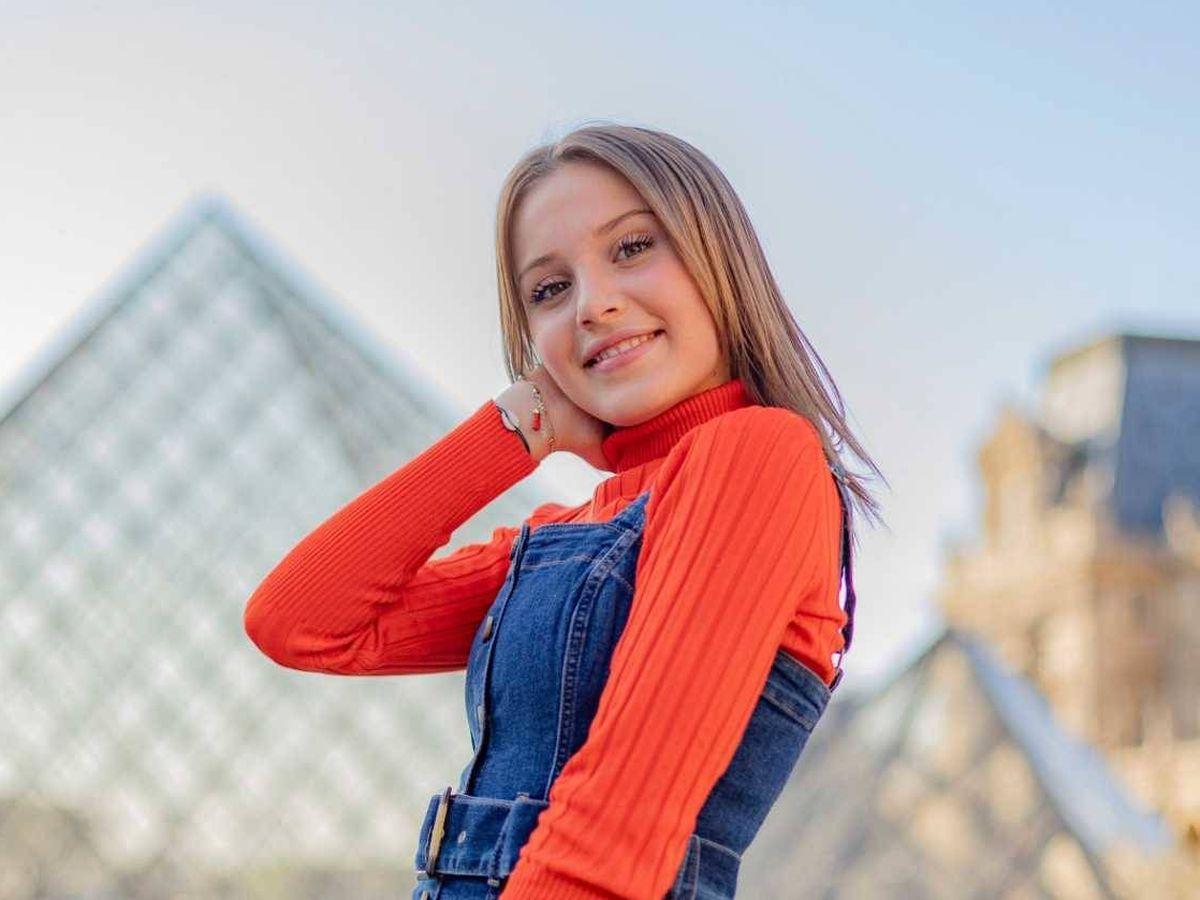 Foto: Carla, representante de Italia en Eurovisión Junior 2019. (RTÉ)