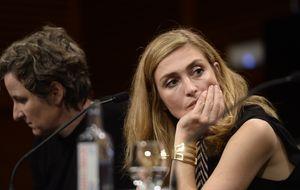 La amante de Hollande llega a San Sebastián para presentar su película