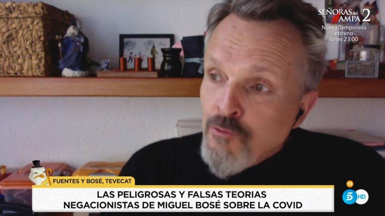 'Socialité' rescata una entrevista de Miguel Bosé. (Mediaset España)