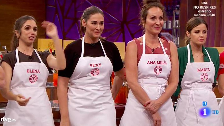 Elena, Vicky, Ana y Marta. (RTVE)