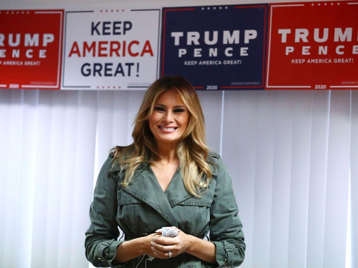 Foto: Melania Trump. (Reuters)