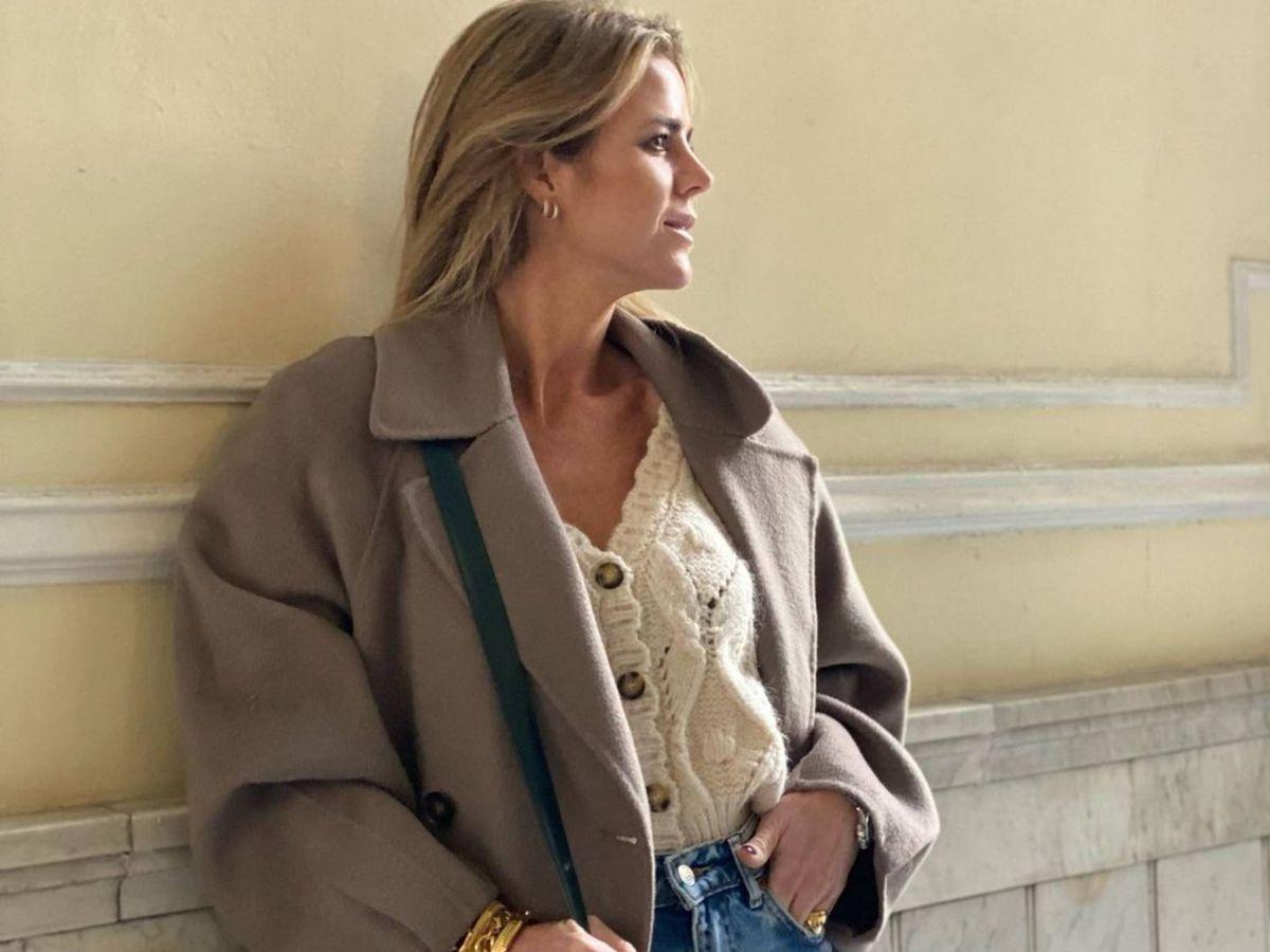 Foto: Amelia Bono y su look con básicos de Zara. (Instagram @ameliabono)