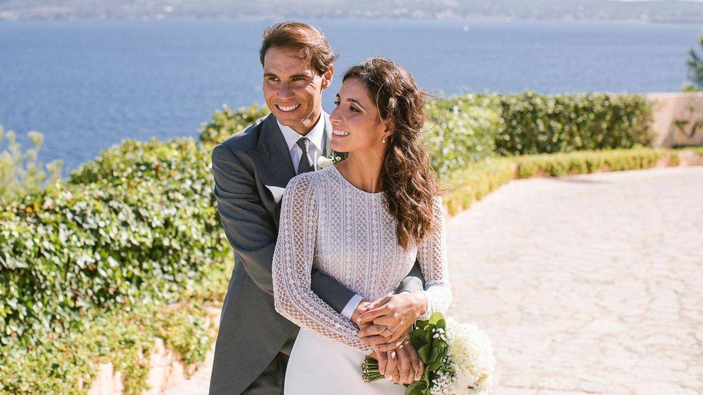 Rafa Nadal y Xisca Perelló, recién casados. (Fundación Rafa Nadal)
