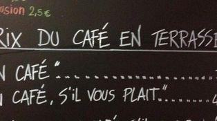La cortesía importa: el bar que cobra 7 euros por el café al cliente maleducado
