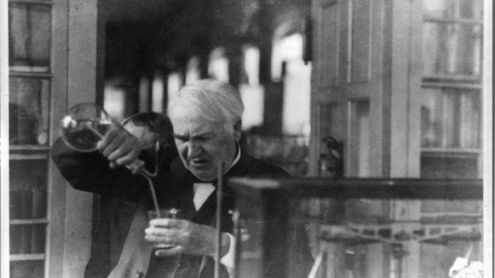 Foto: Si querías trabajar con Thomas Edison tenías que pasar su particular entrevista. (Wikimedia Commons)