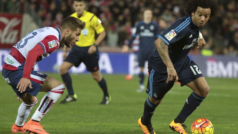 Marcelo sufre la misma lesión de hombro que Ramos y es seria duda para el derbi