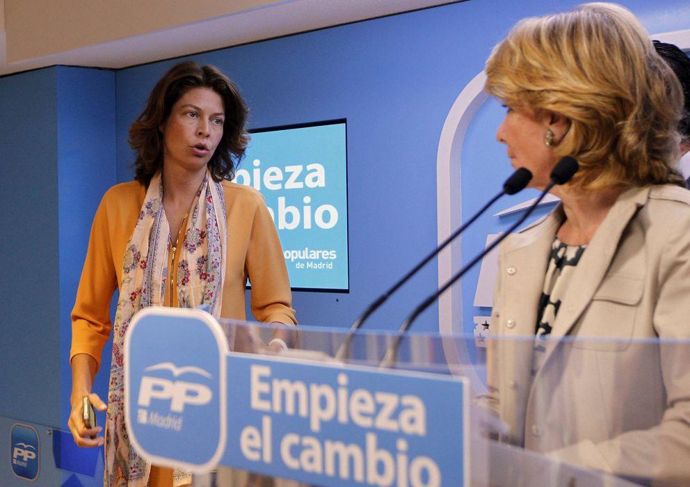 Foto: La dirigente del PP de Madrid y consejera de Educación, Lucía Figar. (EFE)
