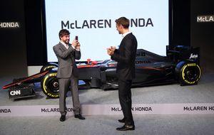 Alonso disfruta en McLaren de la receta de una vida más simple