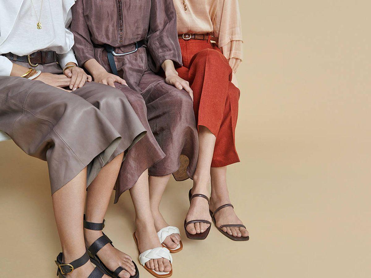 Foto: Es el momento de comprar estas sandalias de Massimo Dutti (Instagram @massimodutti)