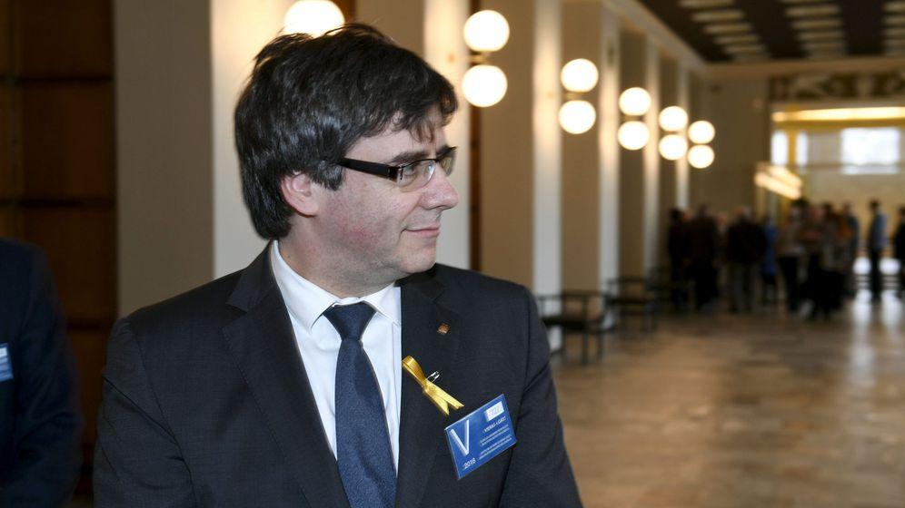 Foto: Puigdemont en una de sus últimas apariciones públicas. (Reuters)
