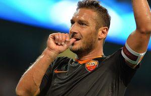 El eterno Totti marca a los 38 años mientras Chelsea y Bayern ganan por la mínima