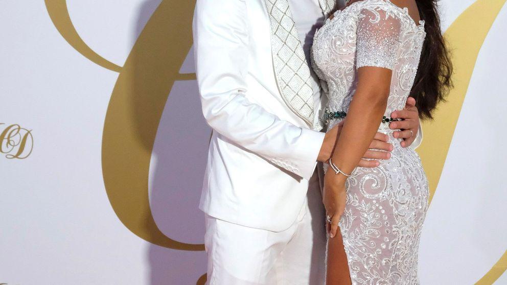 De blanco y con photocall personalizado: así fue la boda de Fábregas y Daniella Semaan