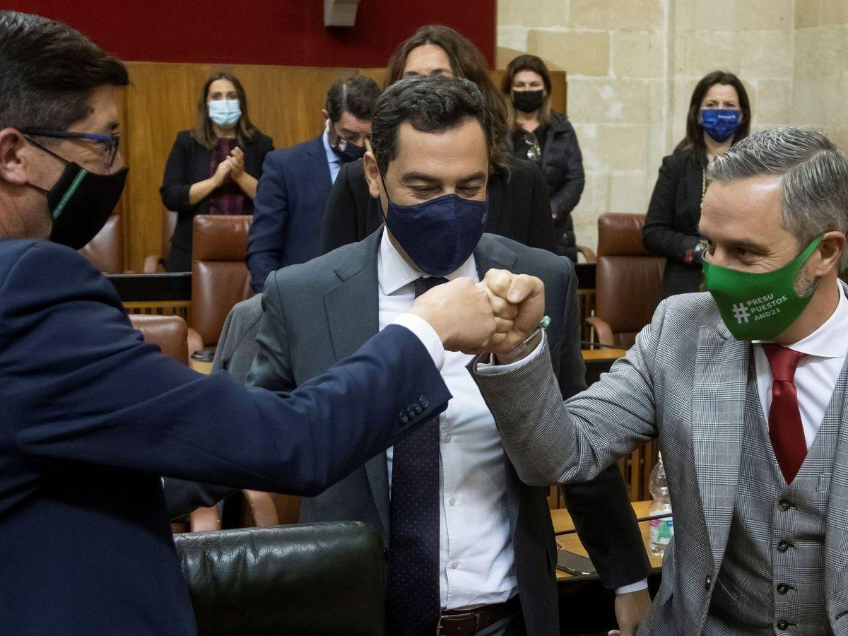 Foto: PP, CS y Vox aprueban los Presupuestos de la Junta. (EFE)