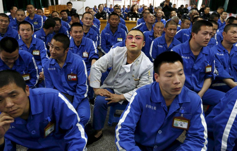 Foto: Adictos a las drogas en un centro de rehabilitación en Shiliping, en la provincia china de Zhejiang (Reuters).