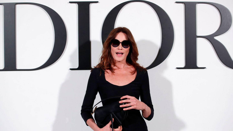 Bruni, en el desfile de Dior. (Reuters)