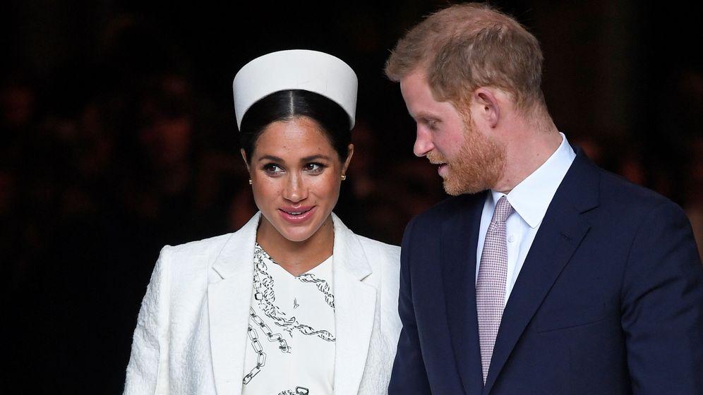 Foto: El príncipe Harry y Meghan Markle, en una imagen de archivo. (Reuters)