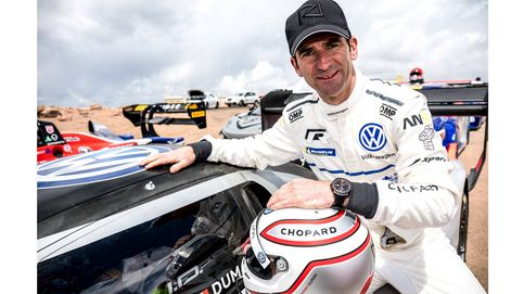 Romain Dumas, ganador del Pikes Peak International