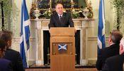 Noticia de Salmond contempla una declaración unilateral de independencia de Escocia